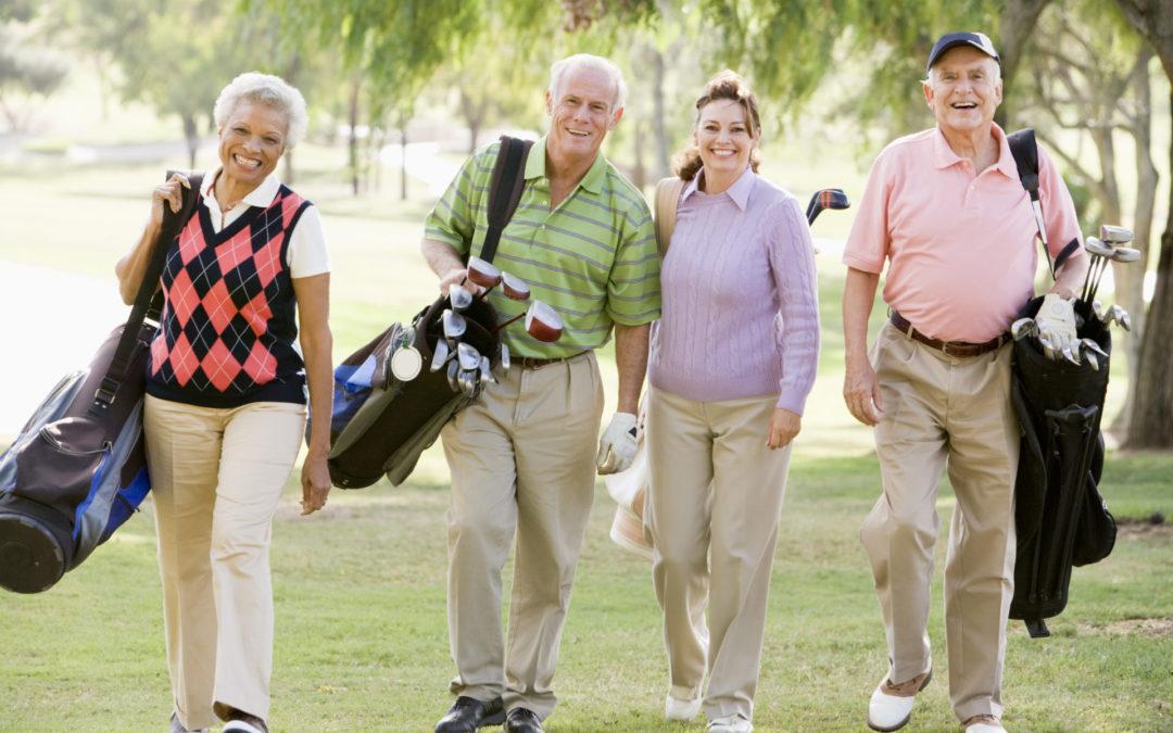 Golf Study Links Regular Golfing to Longer & Healthier Life