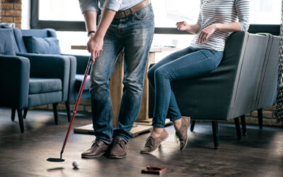 Four Golf-Related Activities You Can Do at Home